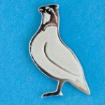 CBI Singing Quail Lapel