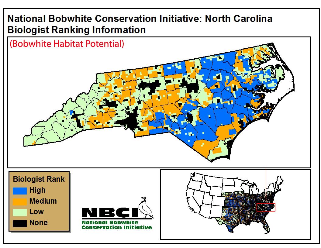 Virginia State Tax >> State Habitat Potential Maps – NBCI