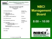 NBCI Management Board Presentation